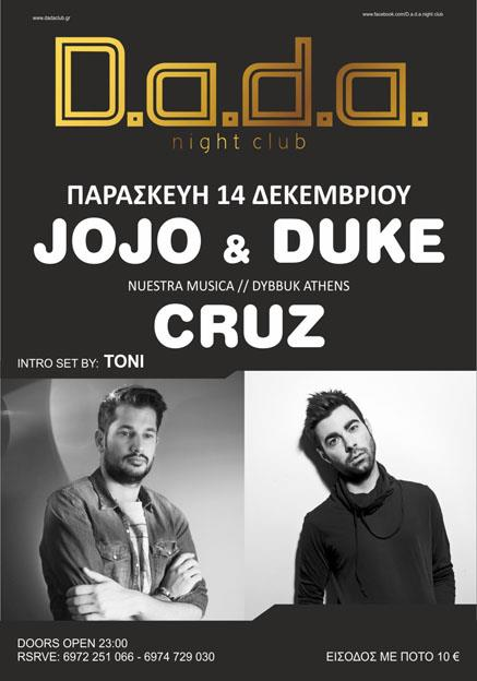 Jojo & Duke / Cruz