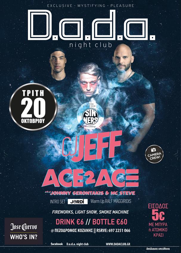 CJ Jeff # Ace2Ace *** Johnny Gerontakis & MC Steve