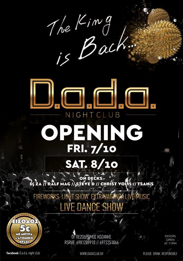 D.a.d.a. OPENING
