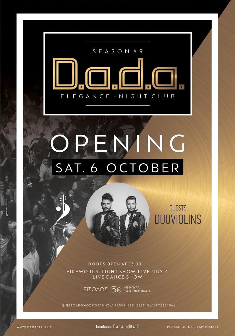 D.a.d.a. OPENING Sat. 6/10